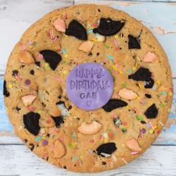 Giant Loaded Cookie Pie (Personalise for Celebrations)