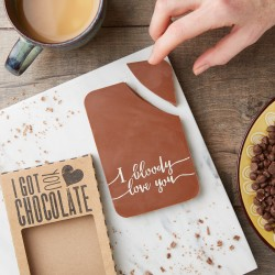 'I Bloody Love You' Chocolate Bar
