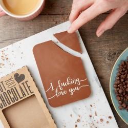 'I F***ing Love You' Chocolate Bar