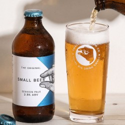 Small Beer Session Pale - Lower Alcohol Beer 2.5% ABV (24 Bottles)