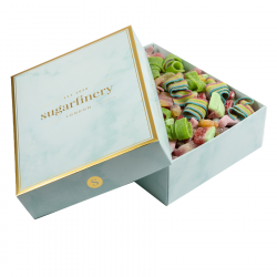 1000g Fizzy & Sours Mixed Sweet Gift Box