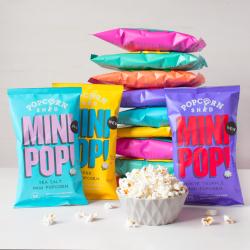 Mini Pop! Ultimate Vegan Popcorn Bundle (Pack of 12)