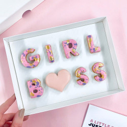 'GIRL BOSS' LETTERBOX COOKIES