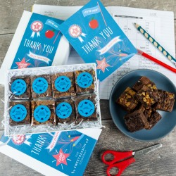 'Thank You Teacher' Luxury Brownie Gift