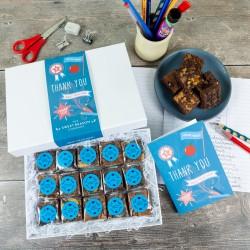 'Thank You Teacher' Indulgent Brownie Gift