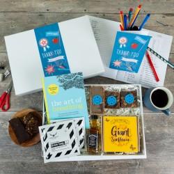 'Thank You Teacher' Treats, Coffee & Mini Jack Daniels Gift