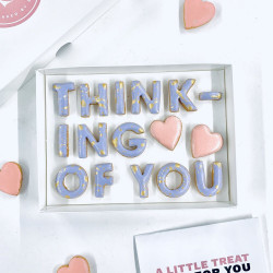 THINKING OF YOU LETTERBOX COOKIES