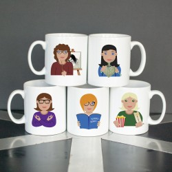 Personalised Hobby Mug for Her