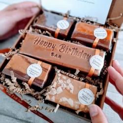 Personalised Happy Birthday Fudge Gift Box