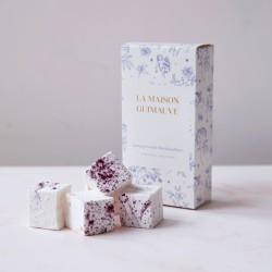 Blueberry & White Chocolate Marshmallows