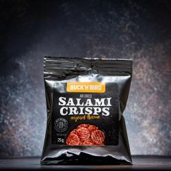 Keto Friendly Salami Crisps - Original (Box Of 6)