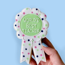 World's Best Award Letterbox Cookie (Customisable)