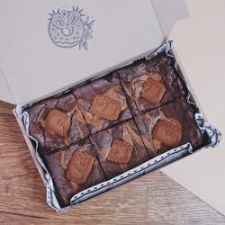 Vegan Biscoff Brownies - Box of 6