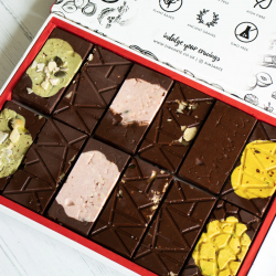 Dark Chocolate Selection Box | Six Different Flavours