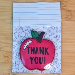 Thank You Teacher Biscuit Gift, End Of Term Present for Teacher, Personalised Message