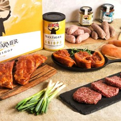 BBQ Meat Box (Sausages, Lamb Chops, Ribs)