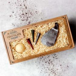 Golfers Chocolate Gift Set – Club Head, Golf Ball & 3 Tees Box
