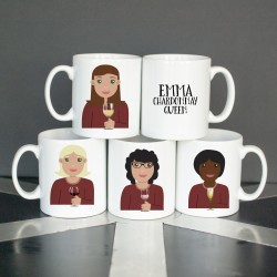 Personalised Wine Lover Mug for her