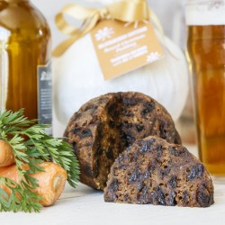 Ale and Carrots Christmas Pudding Traditional Round