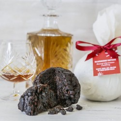 Vegan Christmas Pudding Traditional Round (no added refined sugar)