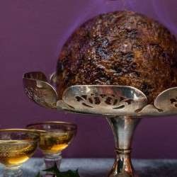 Stout Soaked Fruit Christmas Pudding Traditional Round