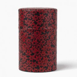 Tea Caddy Red Maple