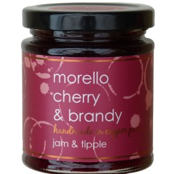 Morello cherry and brandy jam