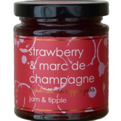 Strawberry & Marc de Champagne Jam (3 pack)