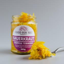 Tropical Turmeric - Unpasteurised Sauerkraut