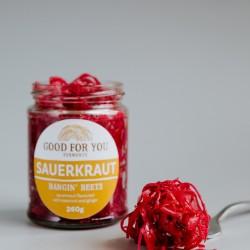 'Bangin' Beets' - Unpasteurised Beetroot Sauerkraut