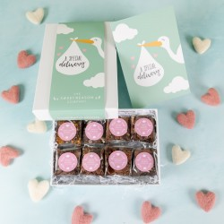 'A Special Delivery' Luxury Brownie Gift