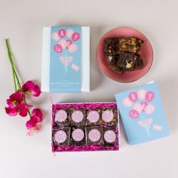 'Baby Girl' Luxury Brownie Gift