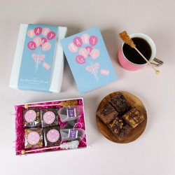 'Baby Girl' Afternoon Tea For Two Gift