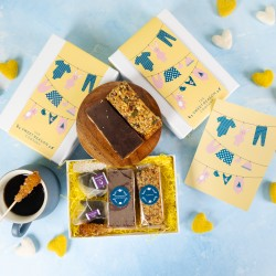 'Baby Clothes' Afternoon Tea For Two Gift Bars
