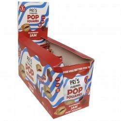 Raspberry Jam Pop Squares (Healthy Pop Tarts) | Vegan & Gluten Free (Pack of 12)