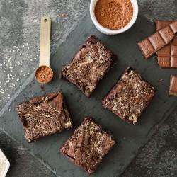 Tahini Brownies (Gluten-Free)