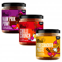 The Woolf's Trio - Chilli Crunch/Firecracker Paste/Nam Prik Pow