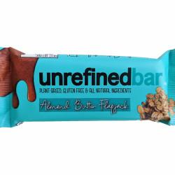 Vegan Almond Butter Flapjack | No Refined Sugar (8 Bars)