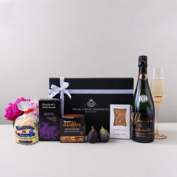 The Congratulations Hamper - Wine & Baked Treats
