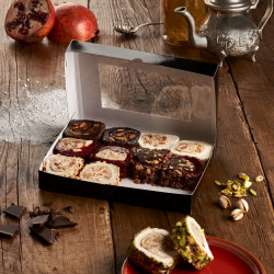 Turkish Delights Rolls | 6 Flavours Assorted Box