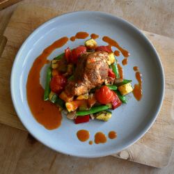 Mediterranean Monkfish Meal Kit For Two - Six People
