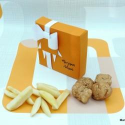 Handmade Marzipan Nugget & Chips