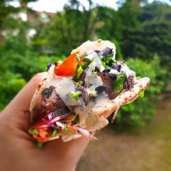 Vegan Beef Shawarma
