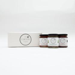 Three Jar Cornish Preserve Gift Set