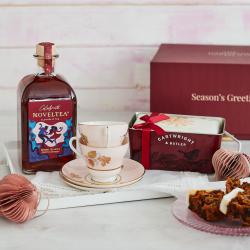 The Tea Time Tipple Christmas Cake Gift Box