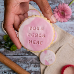 Personalised Handmade Iced Biscuits