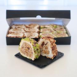 Pistachio & Almond - Turkish Delight Rolls Mixed Box
