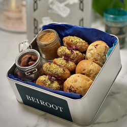 Afternoon Tea With Scones & Mini Donuts