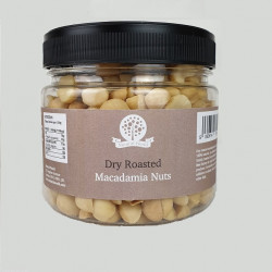 Dry Roasted Macadamia Nuts - Unsalted