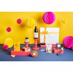 Harding Gomez man gift box hamper wine and cheese